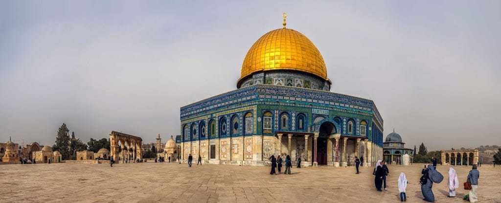 Dome of the Rock panorama