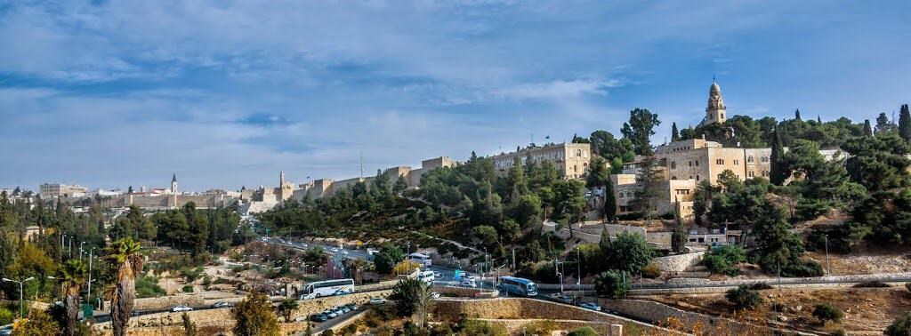 Mount Zion and the Old City walls