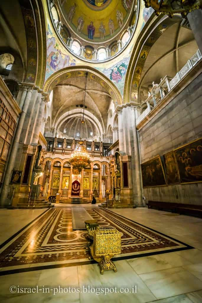 Catholicon in Holy Sepulcher