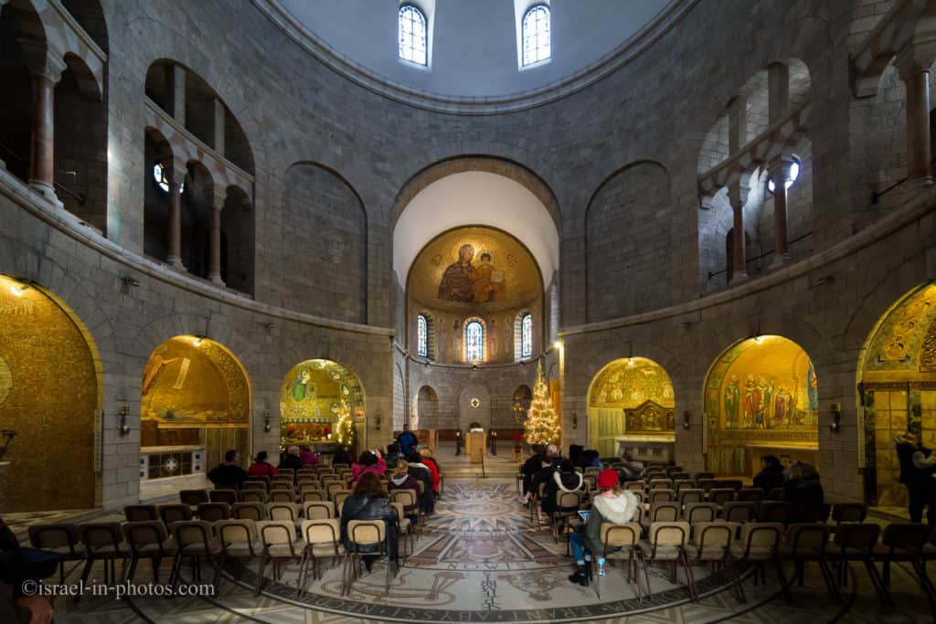 Abbey of the Dormition in Jerusalem, Israel