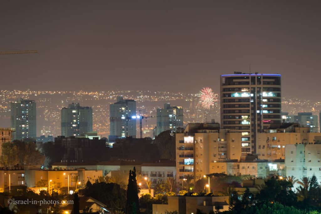 Independence day celebrations in Israel