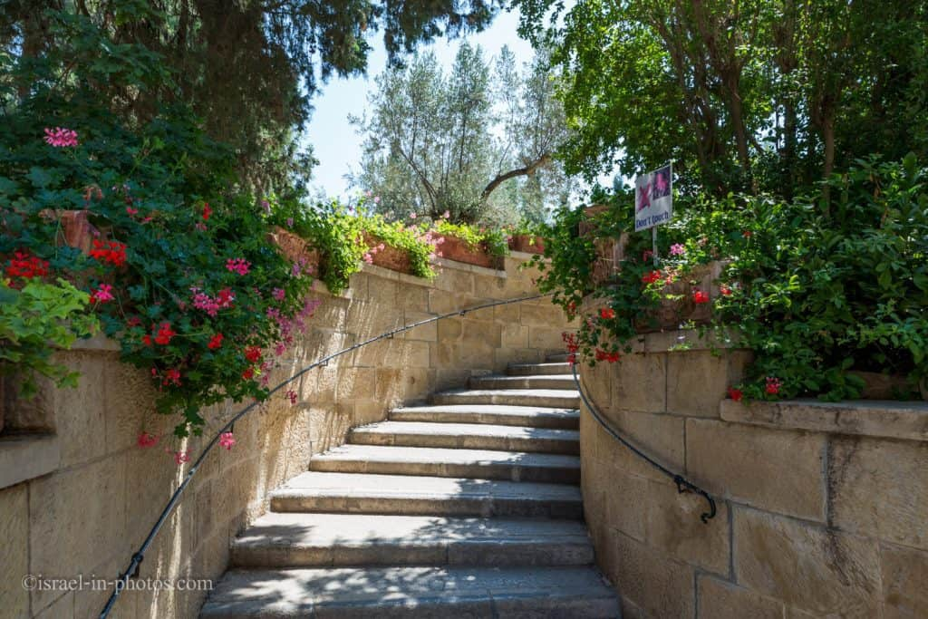 Stairs to the upper Church