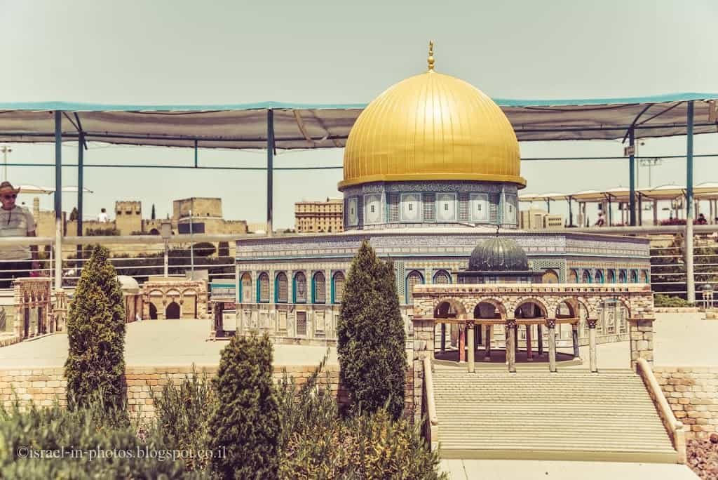 Dome of the Rock at Mini Israel