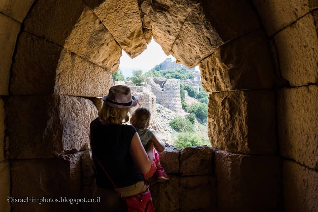 Nimrod Fortress National Park - The Biggest Crusade Castle In Israel