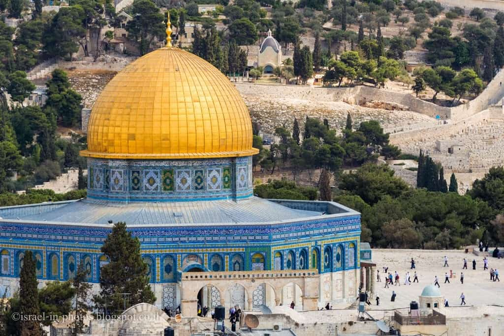 Dome of the Rock from Church Of The Redeemer