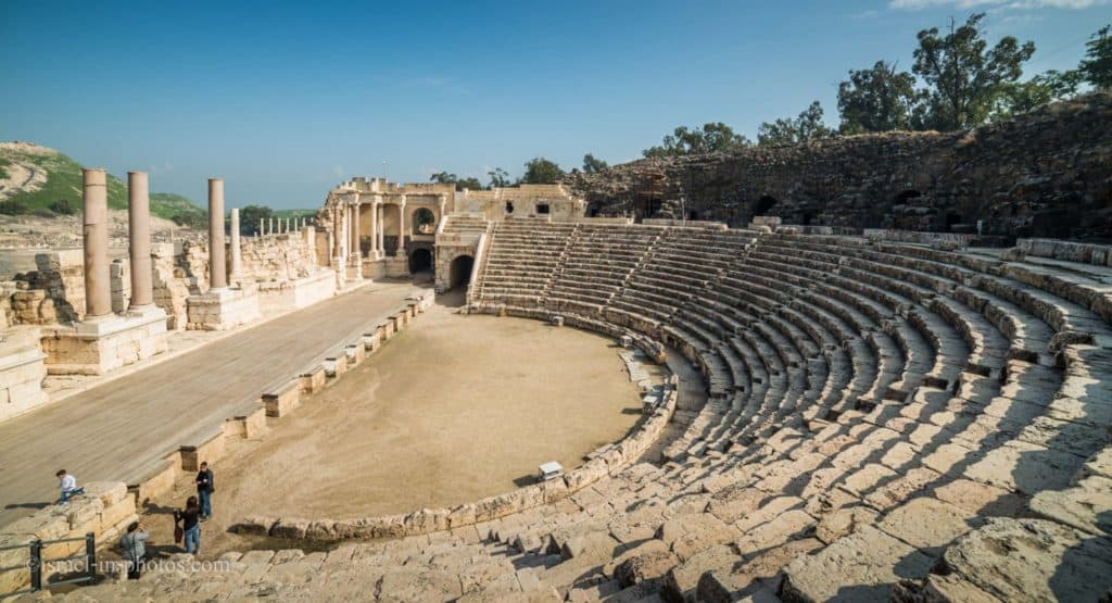 Roman Theater at Beit Shean National Park