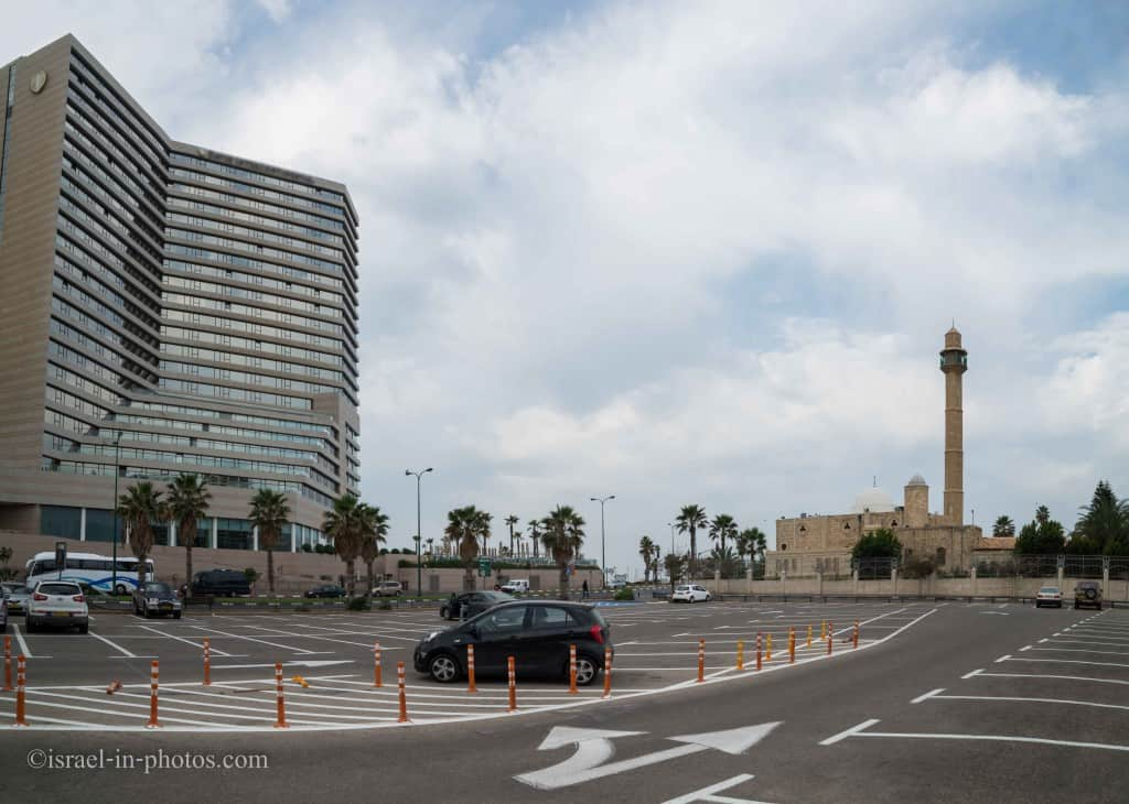 Hassan Bek Mosque and the David Intercontinental hotel