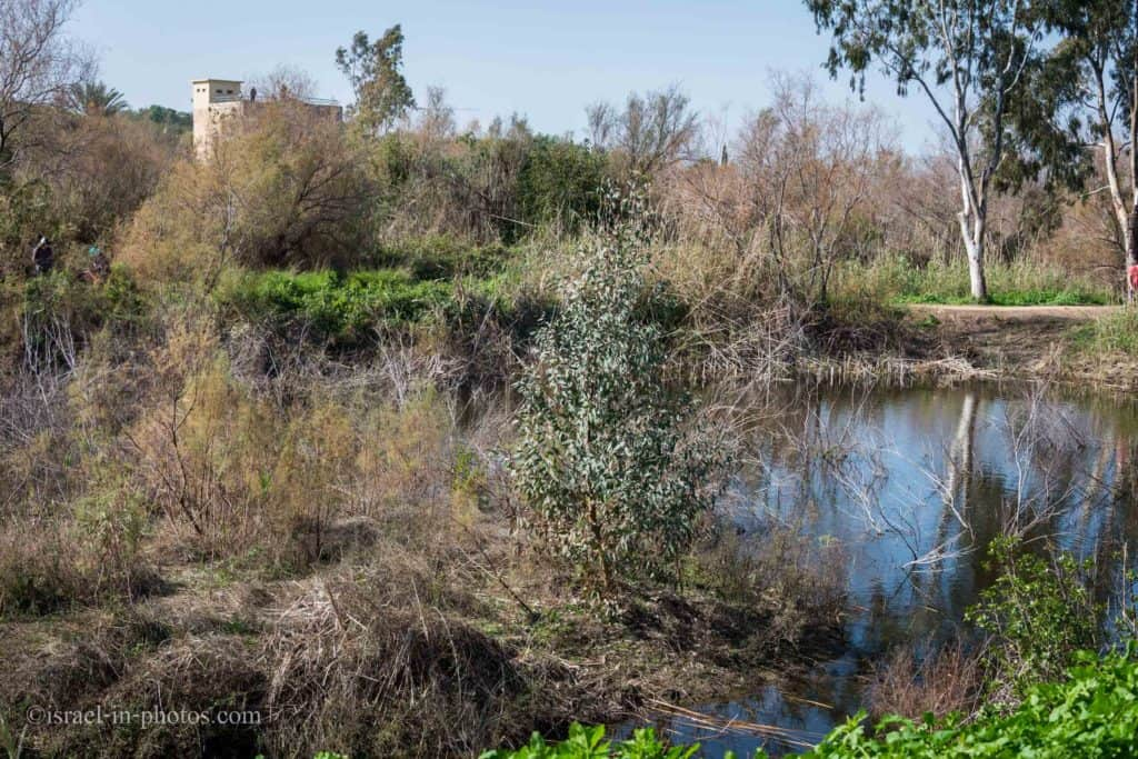Mill at Ein Afek Nature Reserve