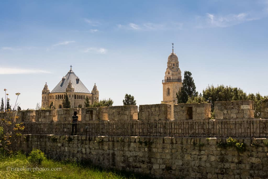Dormition Abbey on Mount Zion