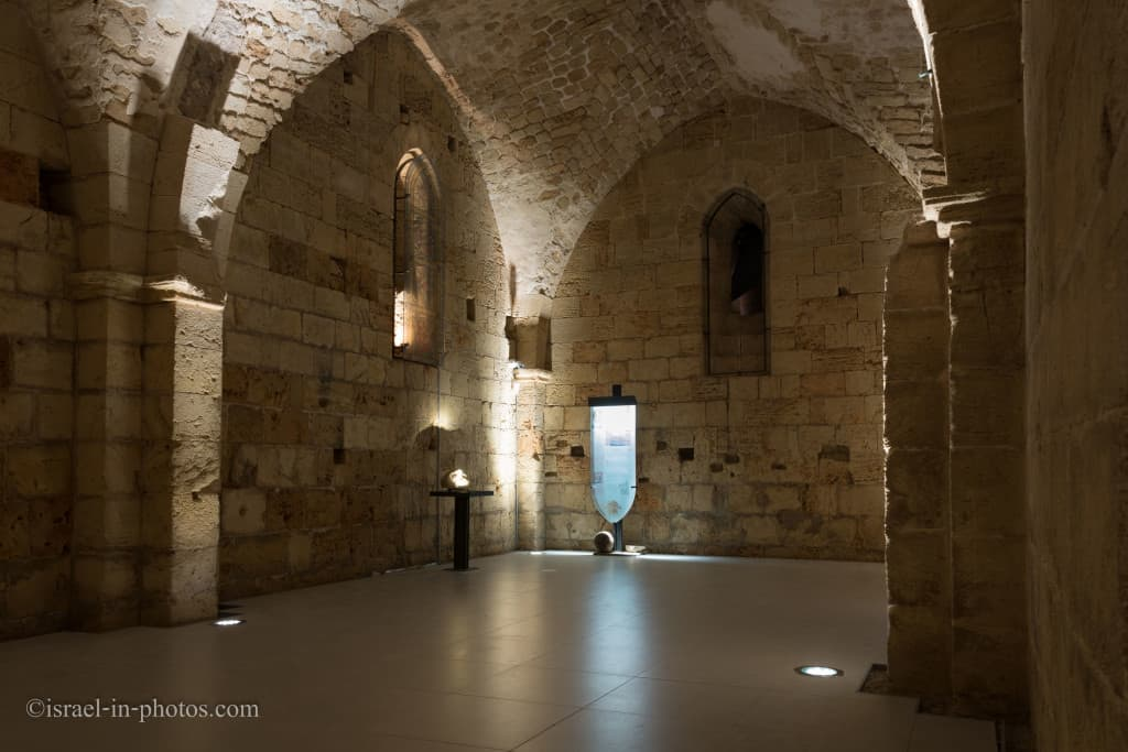 The Beautiful Hall in Hospitaller Fortress, Old Acre