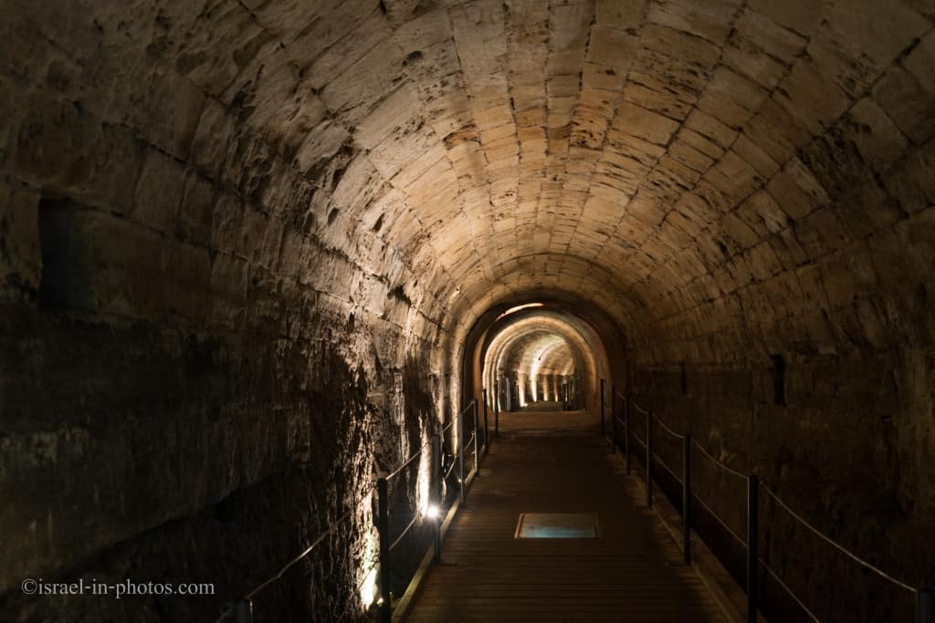 The Templars' Tunnel in Old Acre