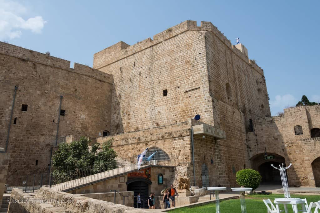 Hospitaller Fortress in Old Akko