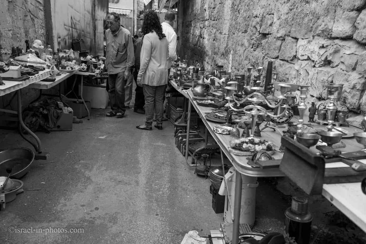 The Flea Market and Merchant Fair in Haifa -18