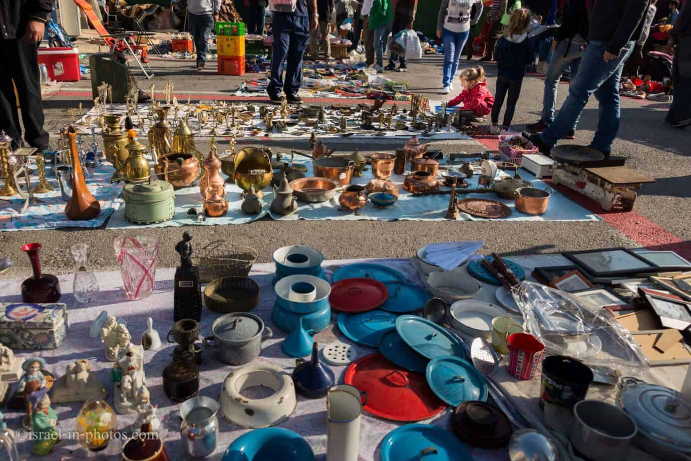 The Flea Market and Merchant Fair in Haifa -7