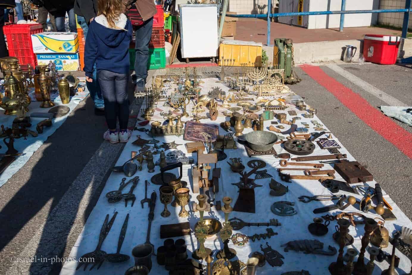 The Flea Market and Merchant Fair in Haifa -8