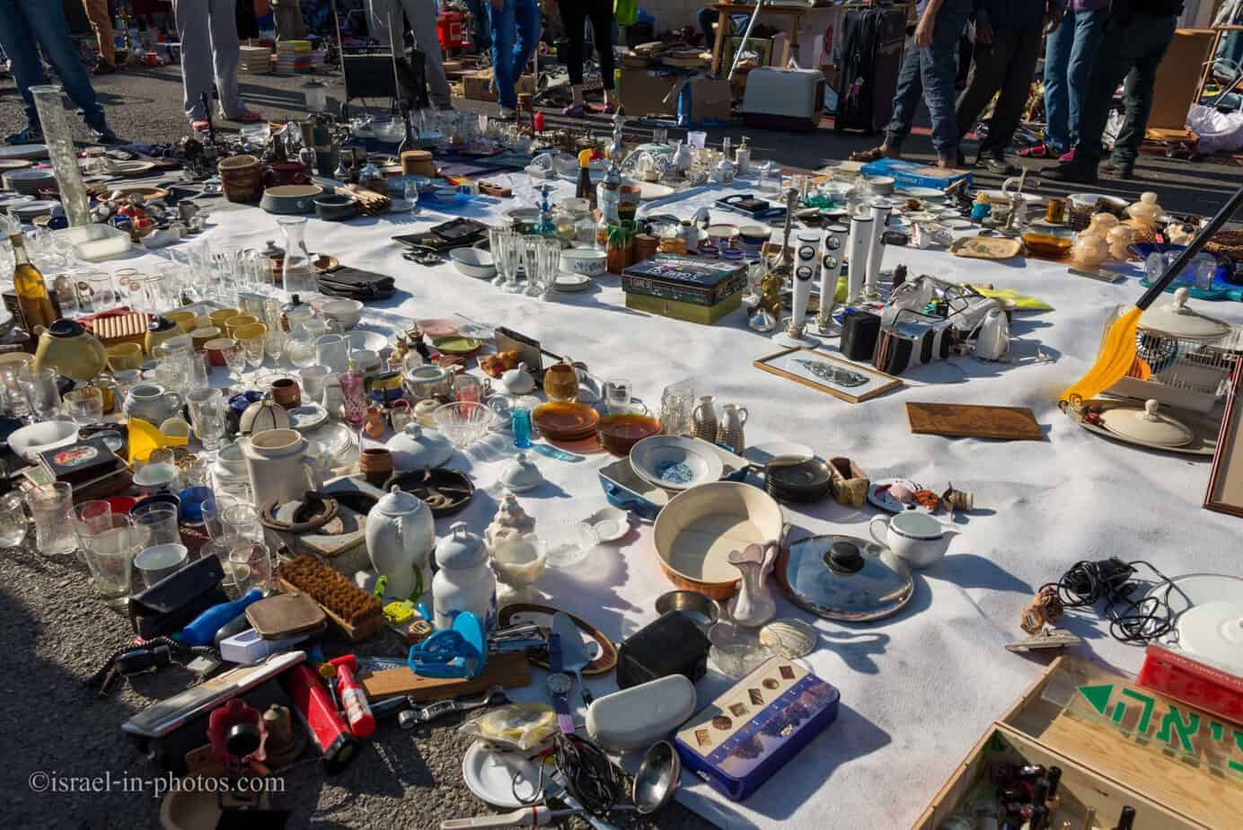 The Flea Market and Merchant Fair in Haifa -9