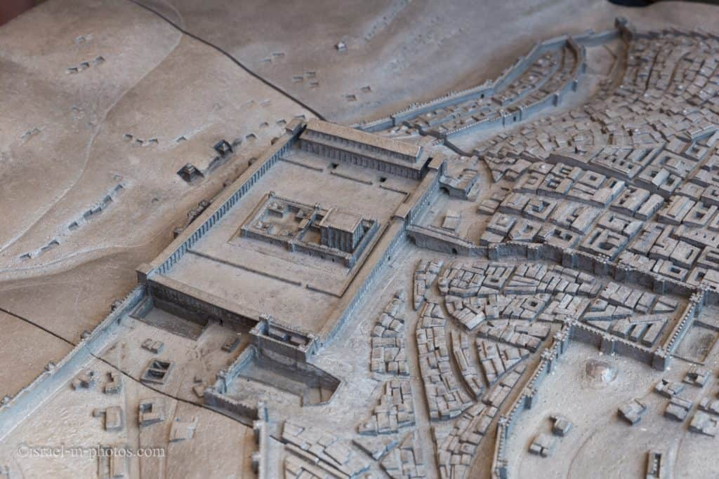 Model of Jerusalem in the Second Temple period