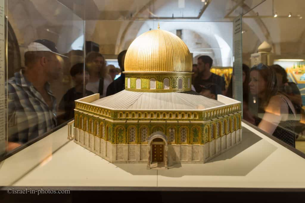 Model of the Dome of the Rock