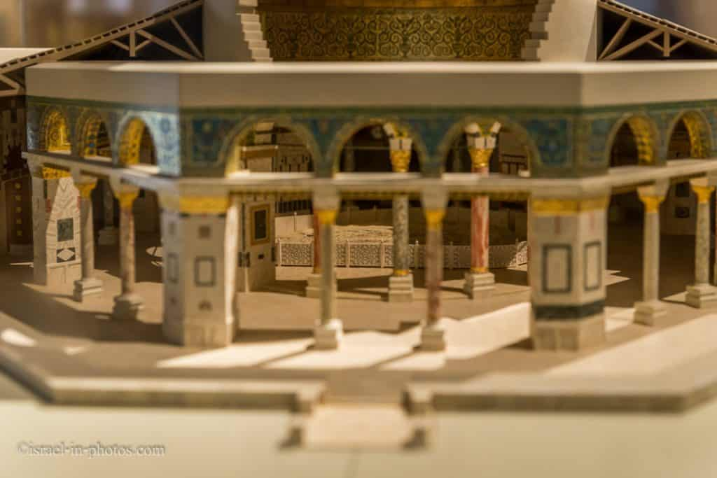 The Dome of the Rock model