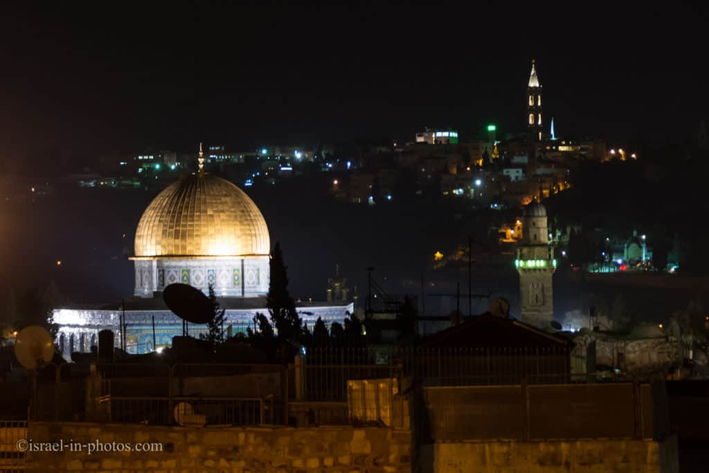 Dome Of the Rock, Jerusalem at night