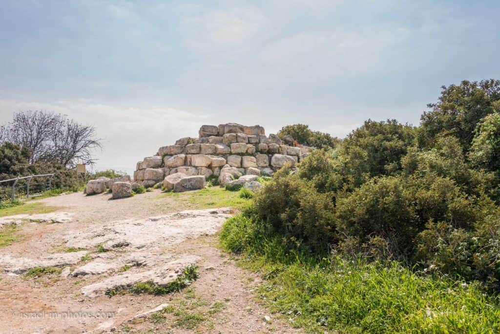 The Pyramid at Horvat Midras