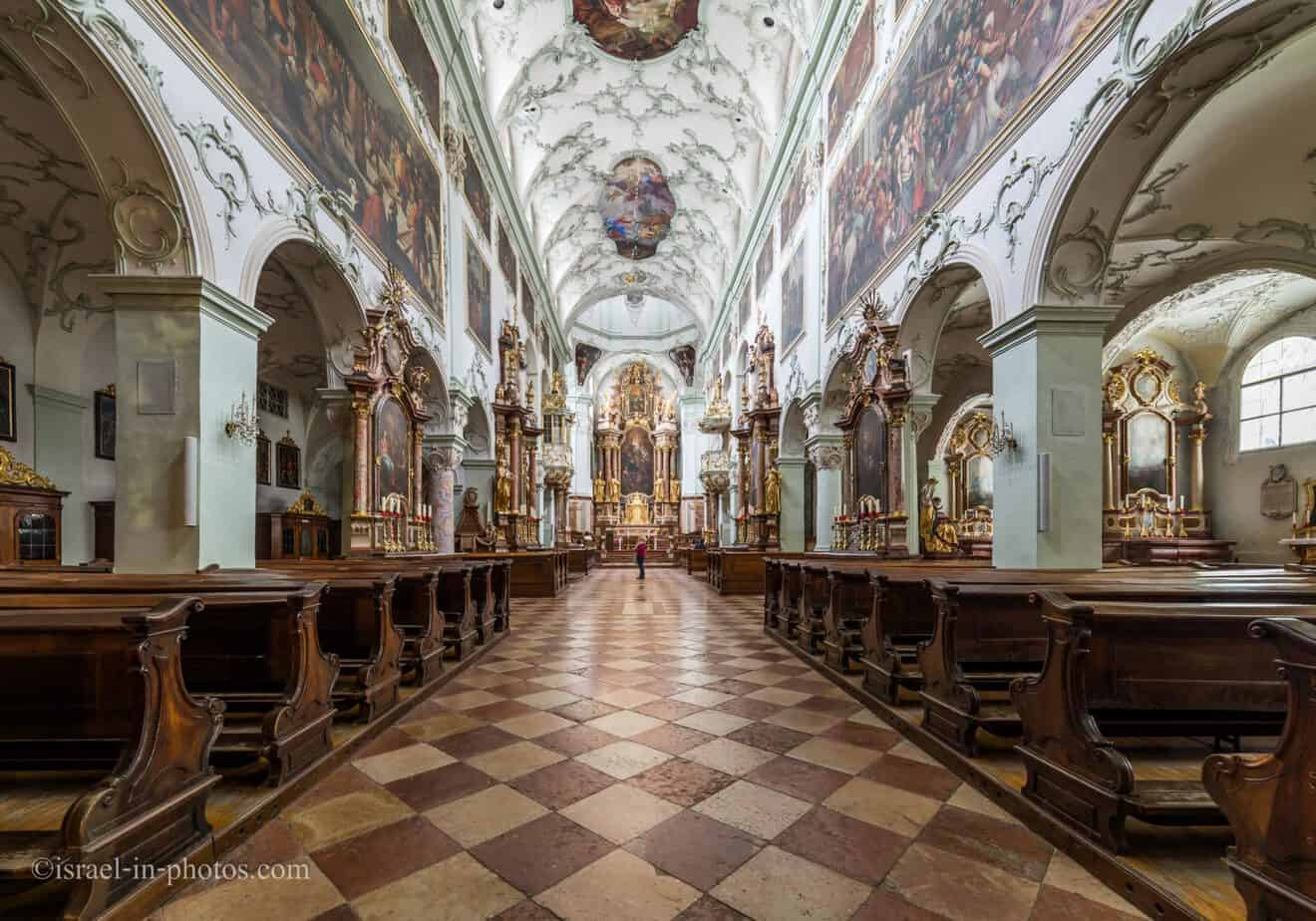 Visiting St Peter's Abbey in Salzburg, Austria