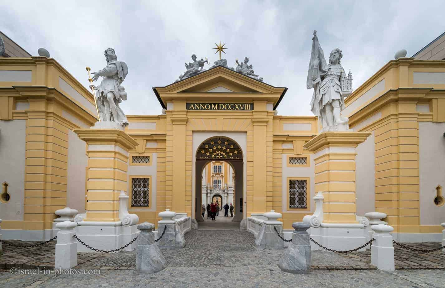 Visiting Melk Abbey and city, Austria