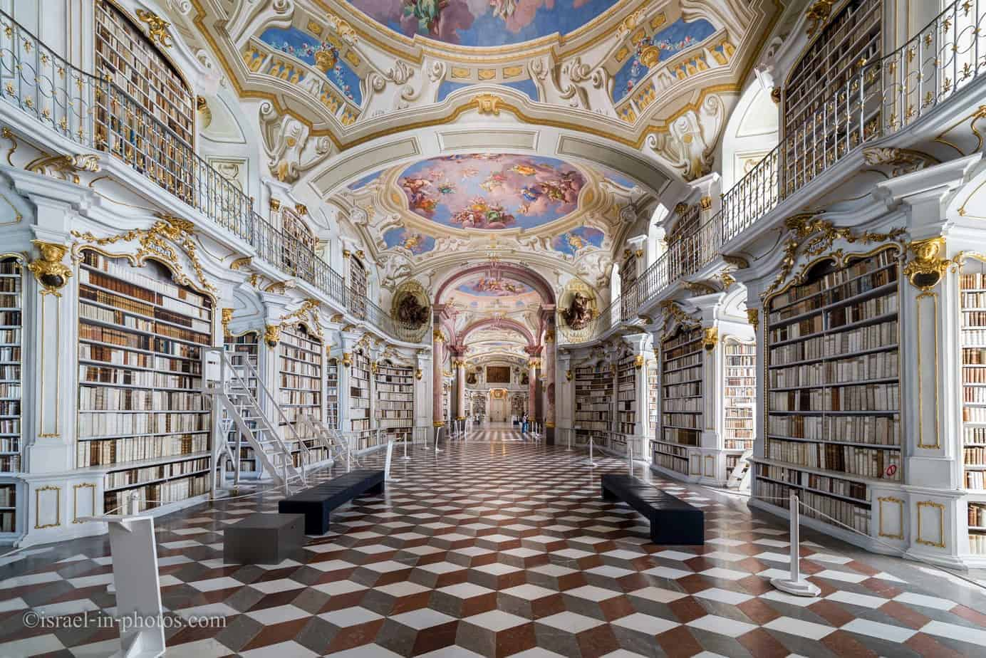 Visit to Admont Abbey in Styria, Austria