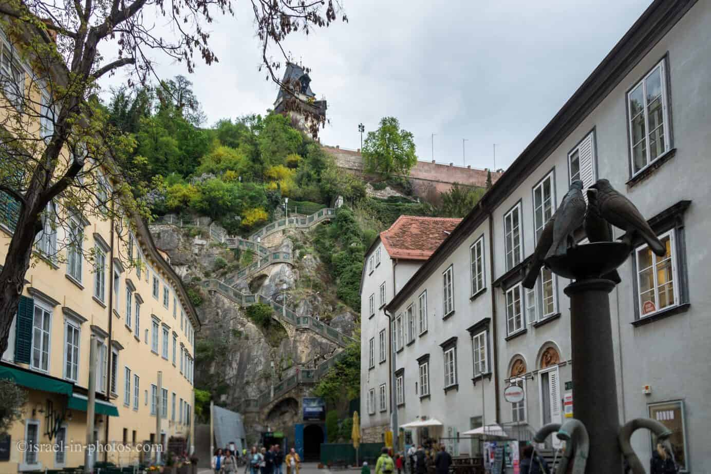 Visiting Graz, the capital city of Styria, Austria