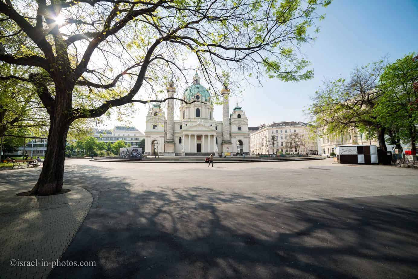 St. Charles's Church Vienna, Austria's capital