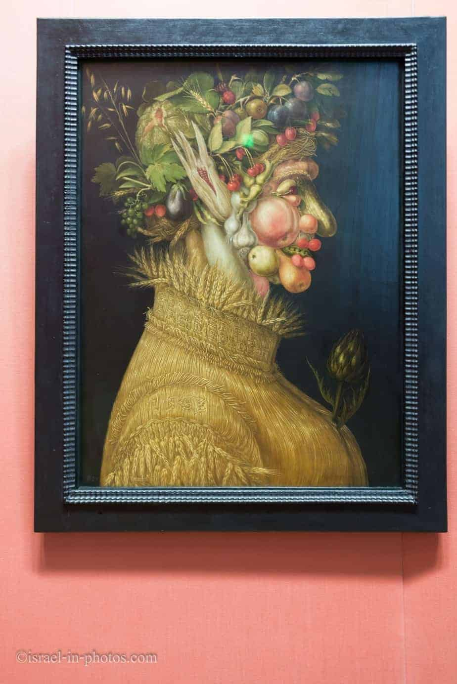 Summer by Giuseppe Arcimboldo in Vienna, Austria's capital