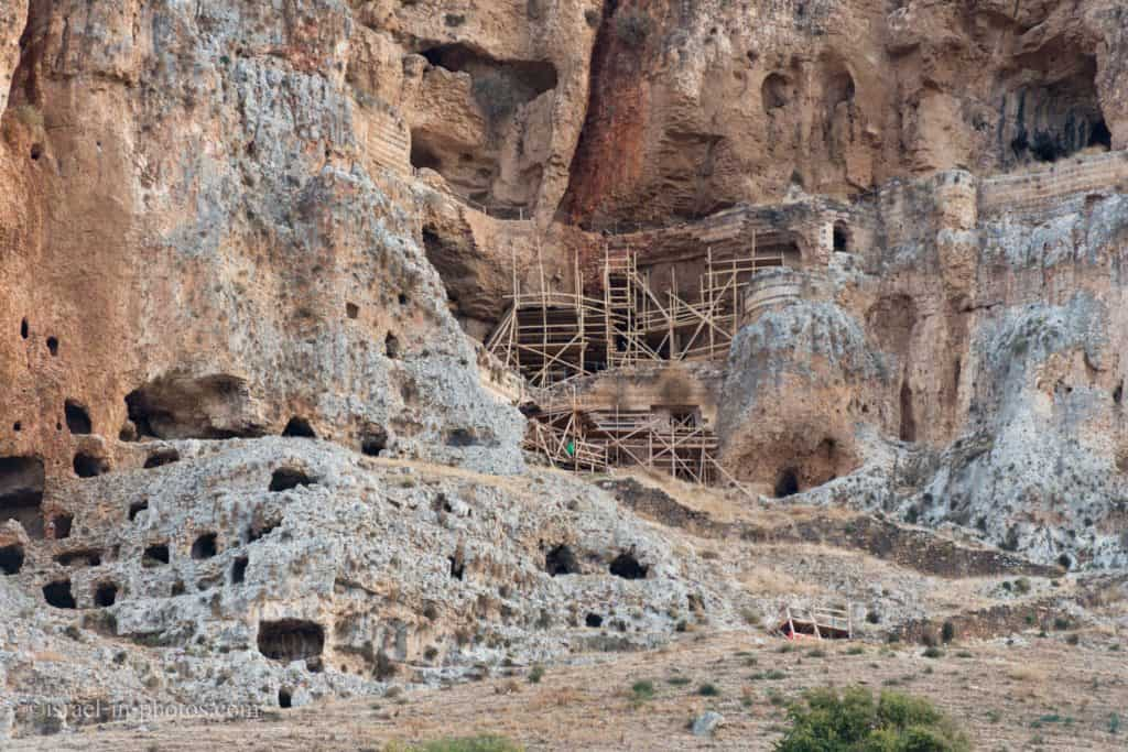 Arbel Fortress and The Caves