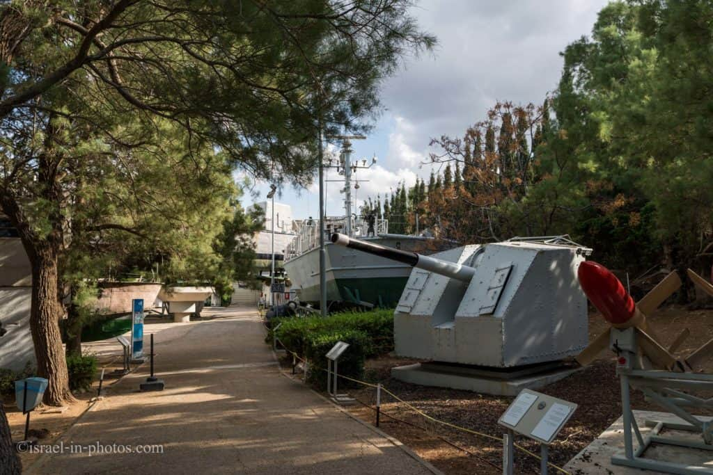 Clandestine Immigration and Naval Museum in Haifa, Israel