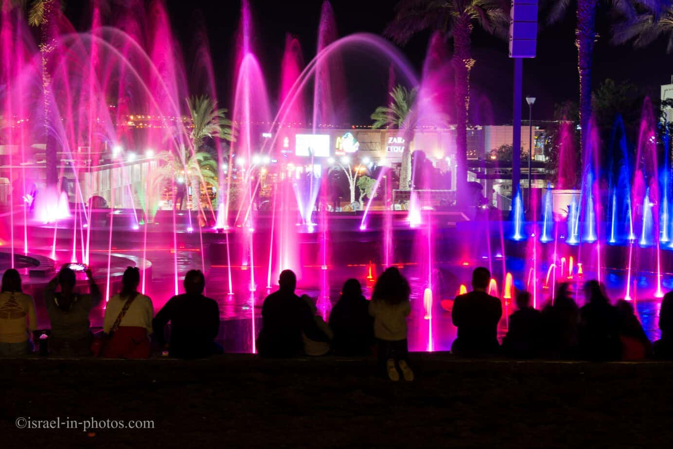 Musical Fountain Eilat, Israel
