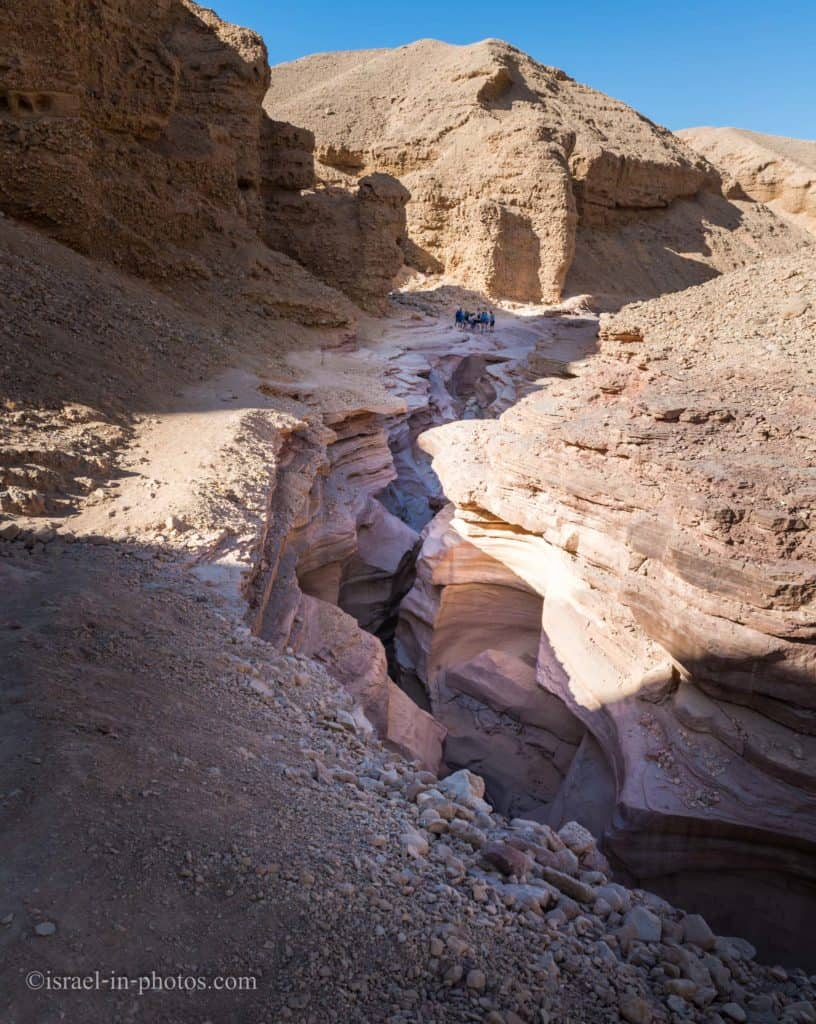 Red Canyon at Eilat mountains, Israel