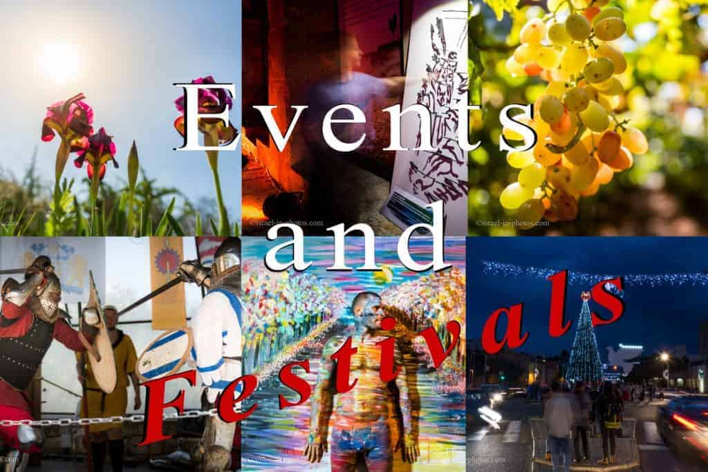 Events And Festivals by Season in Israel