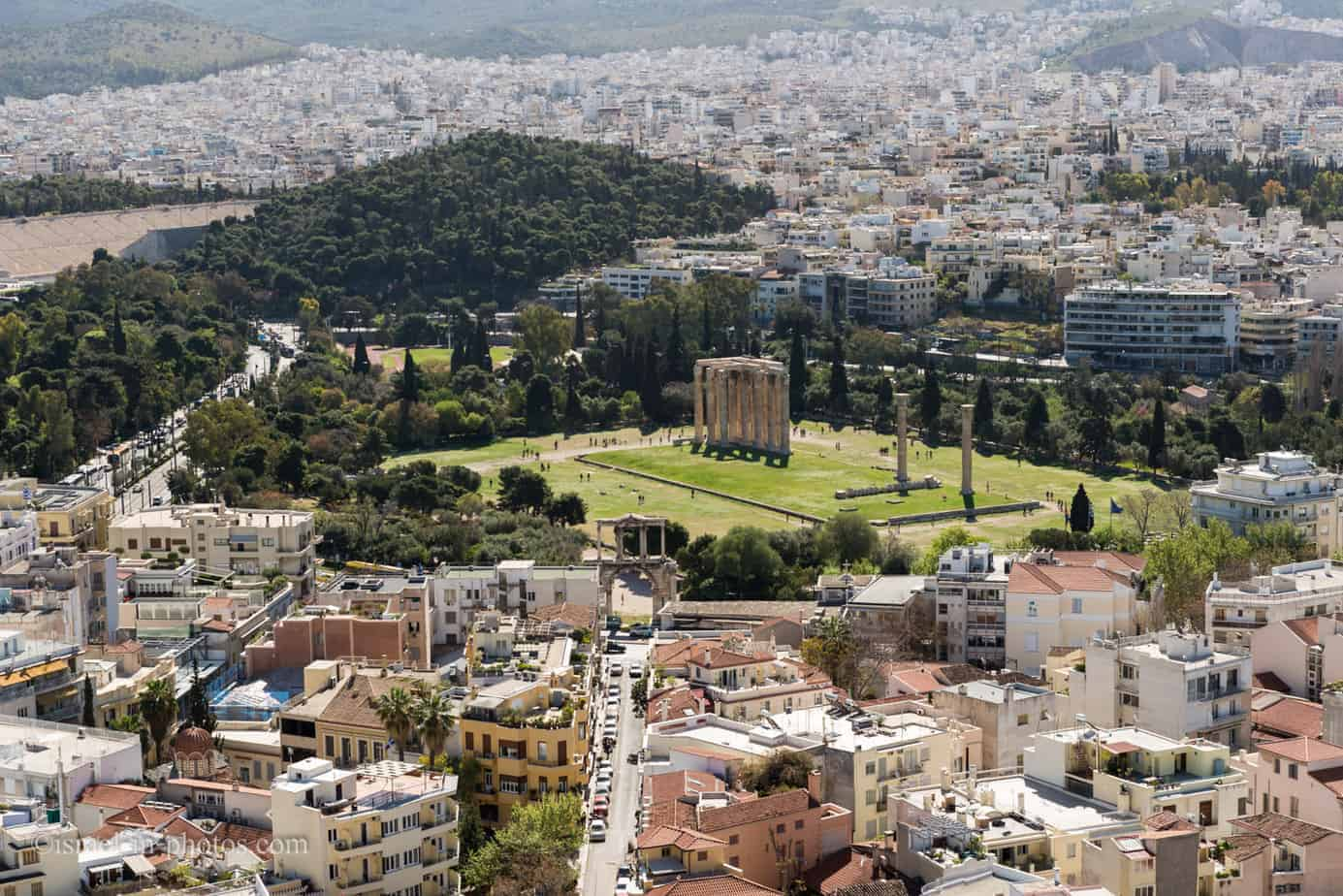 Visiting Athens in Greece, Europe