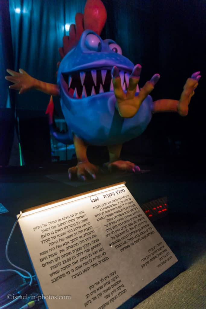 Sea of Galilee Monster, The Monsters Garden Exhibition