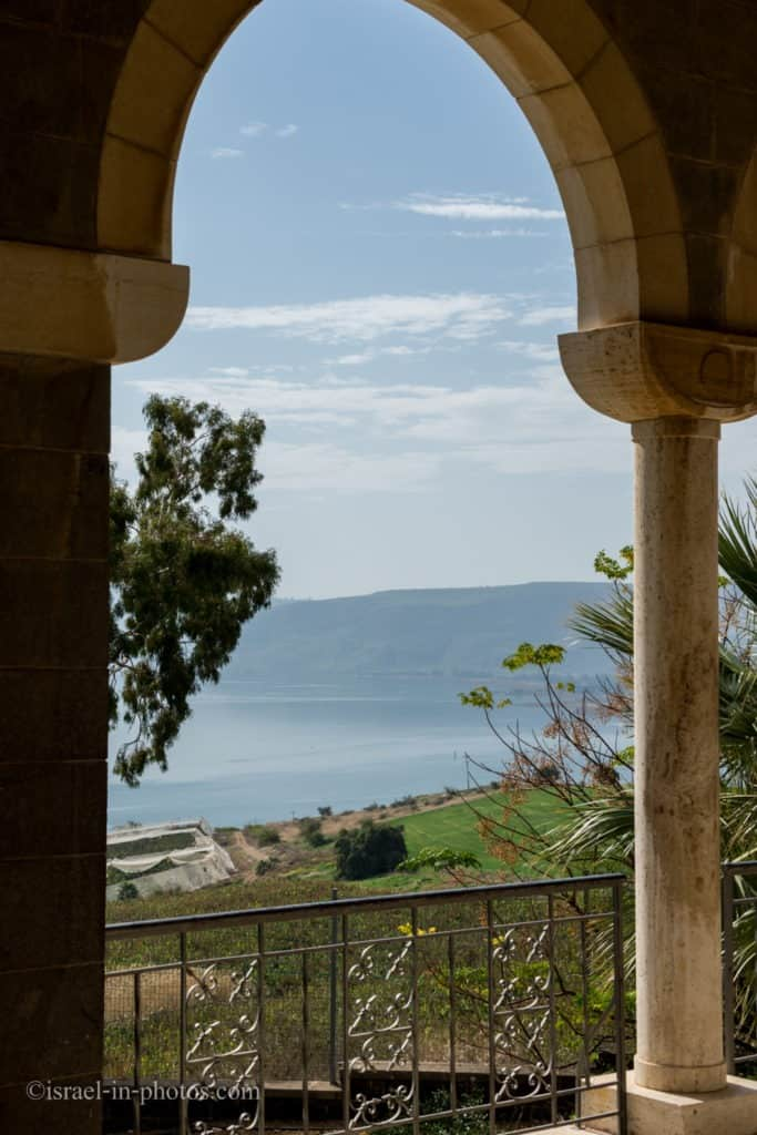 Sea of Galilee from Church Of The Beatitudes