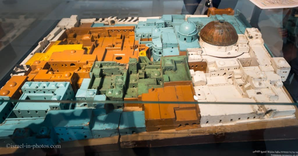 Model of Church Of The Holy Sepulchre