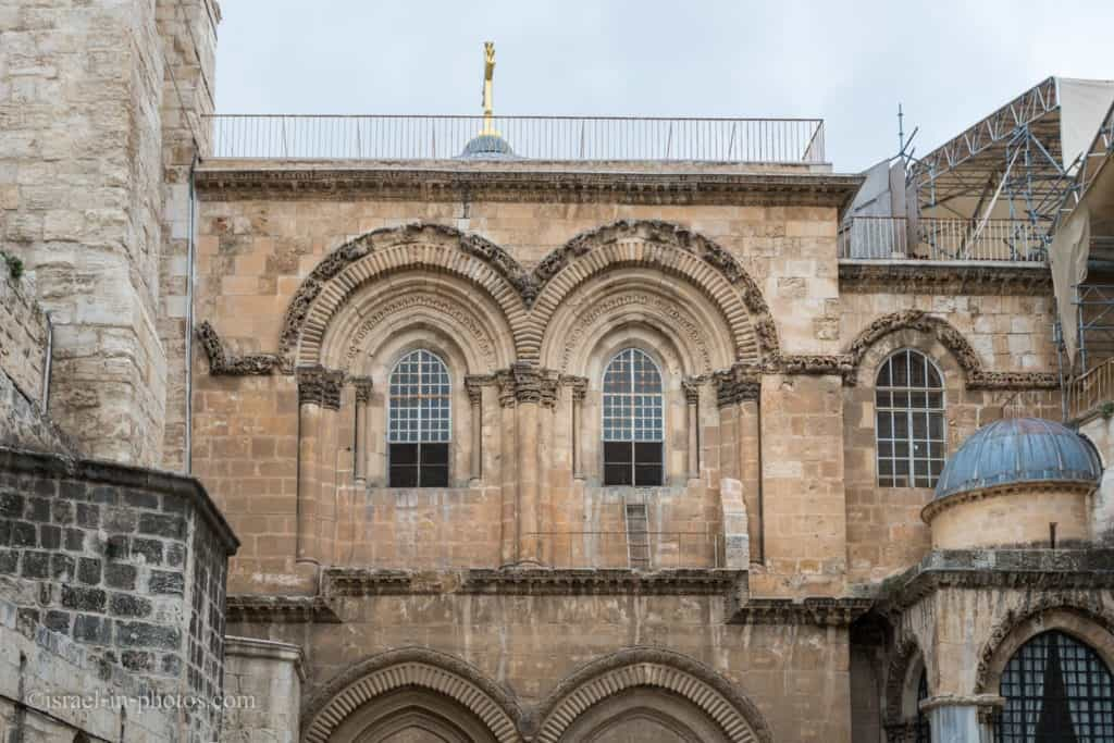 Ladder at Church Of The Holy Sepulchre, Jerusalem