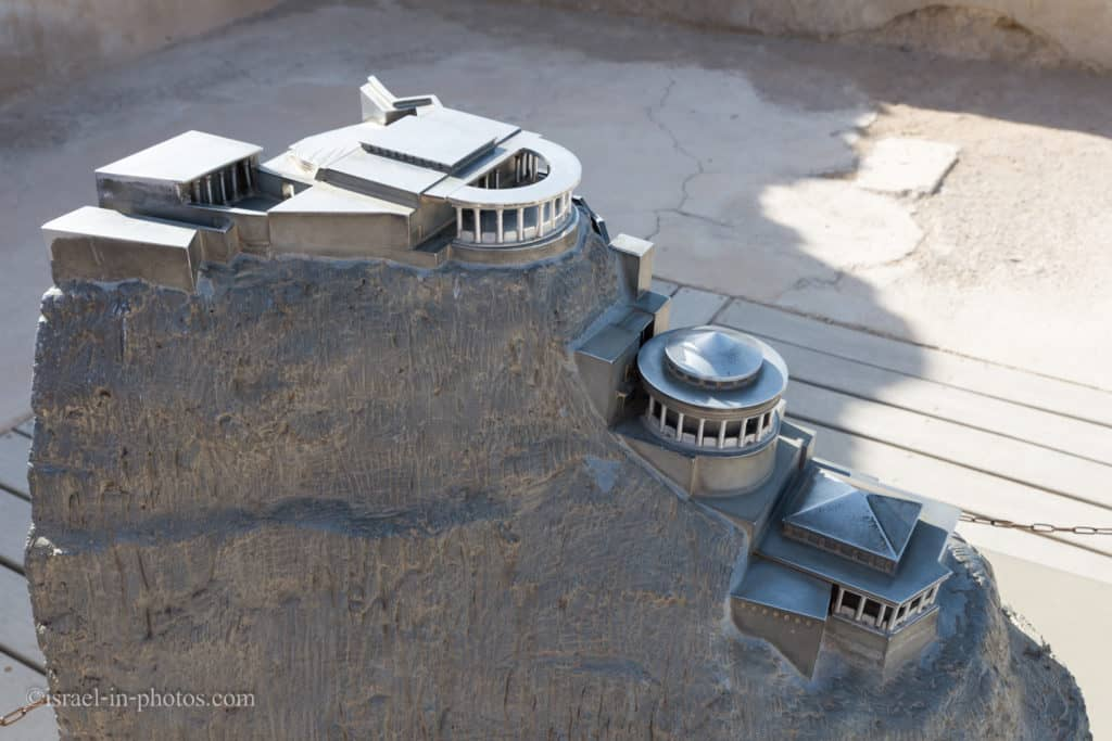 Model of The Northern Palace in Masada
