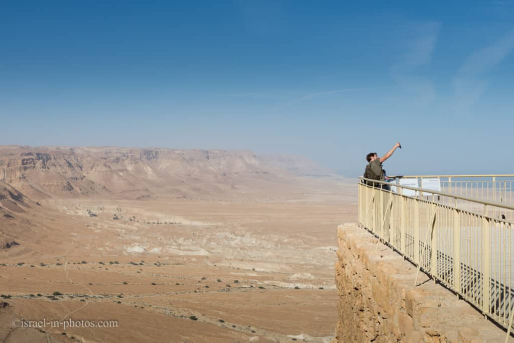 Lower Terrace of the Northern Palace in Masada
