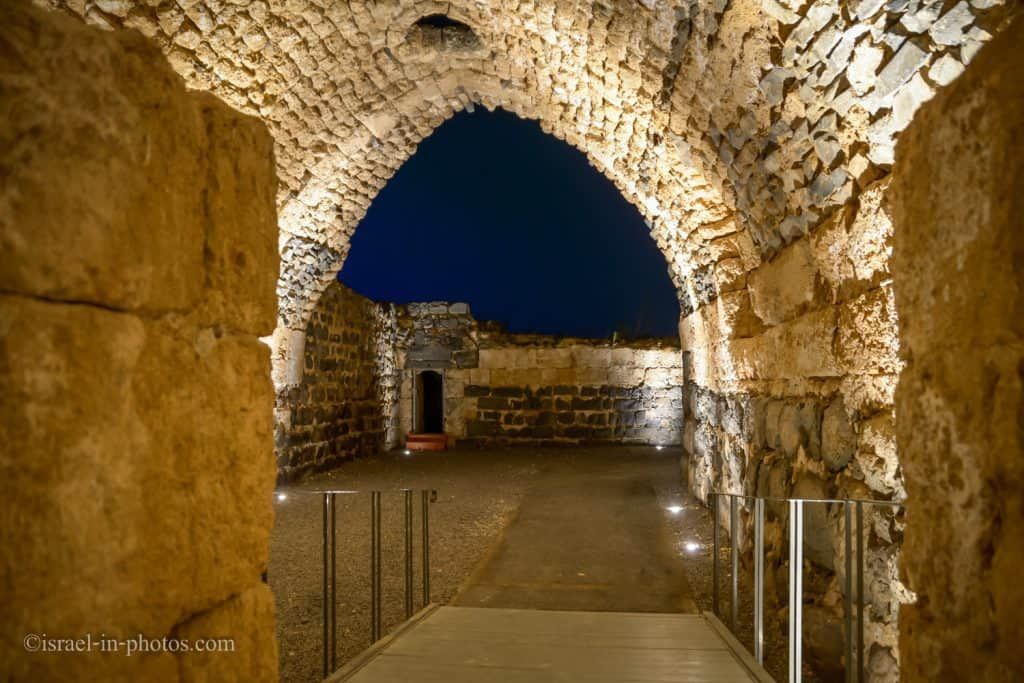 Vaults of the inner fortress