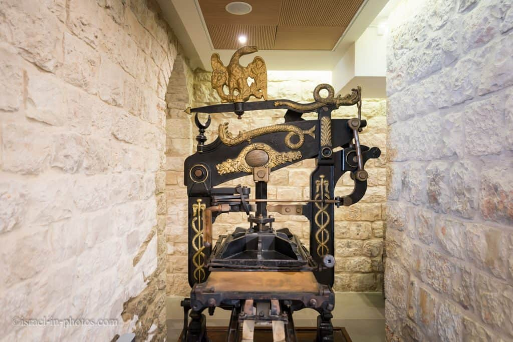 """Printing Press """"Columbia"""" from 1813"""