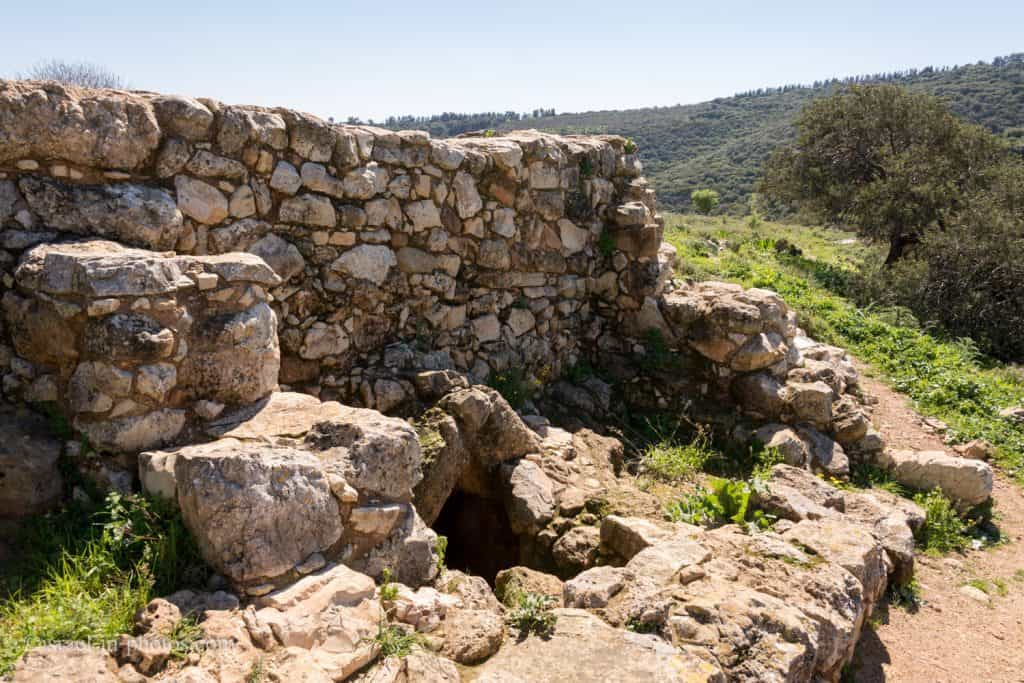 The The Hiding Space at Tel Yodfat