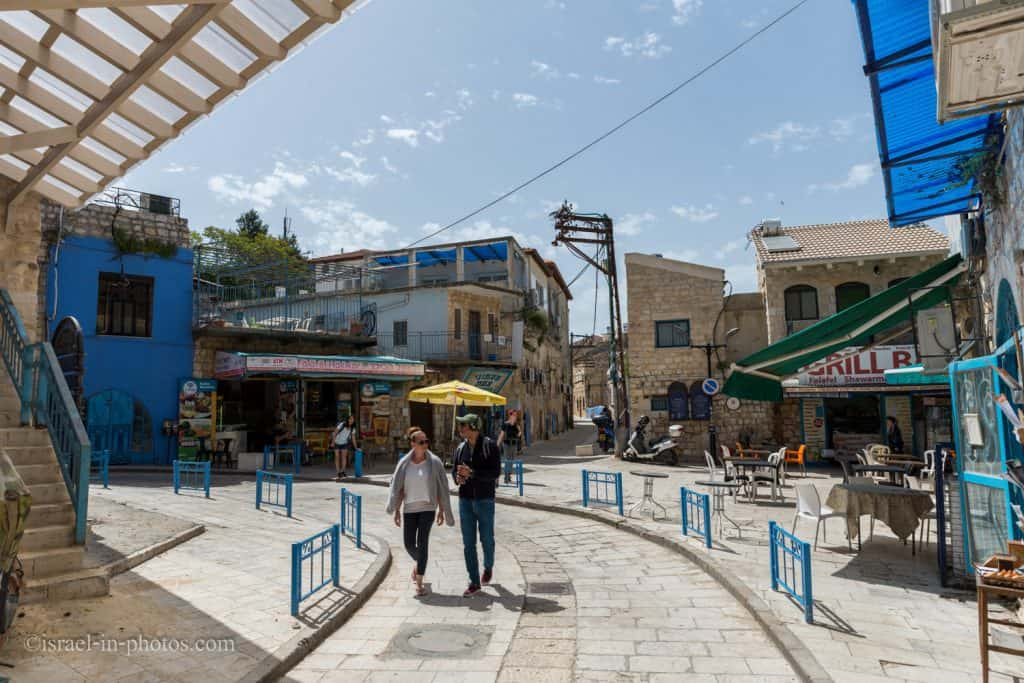 Old City in Safed (Tzfat)