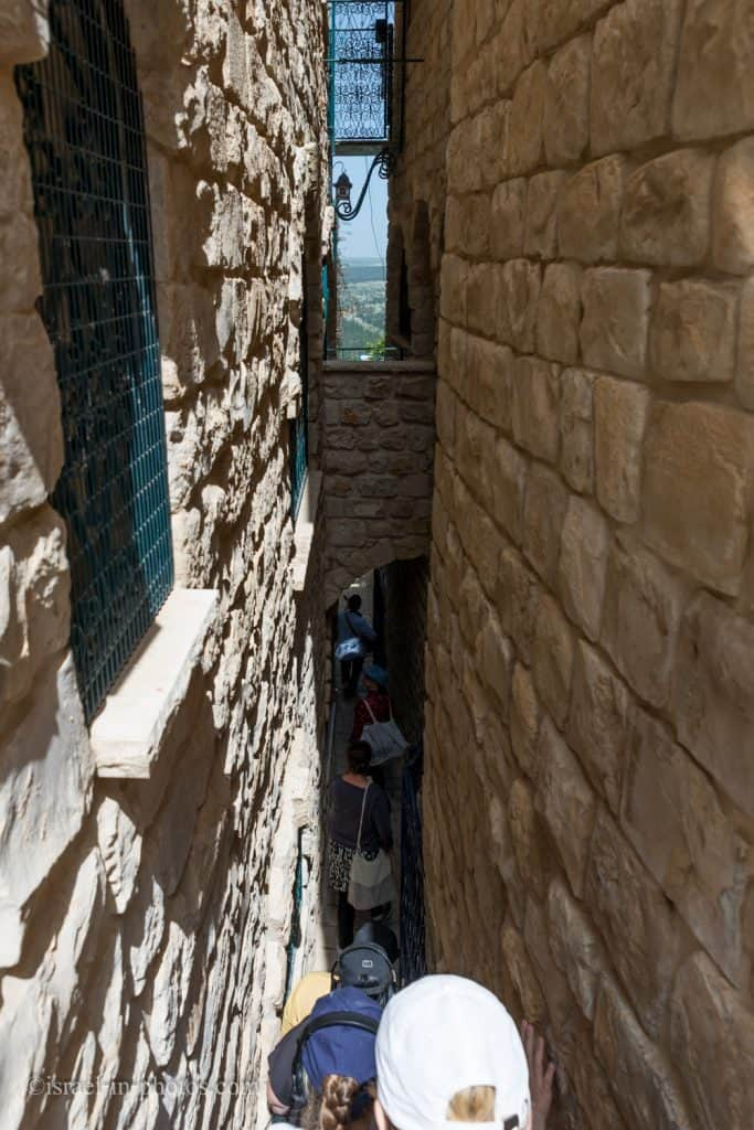 Messiah's Alley - Safed