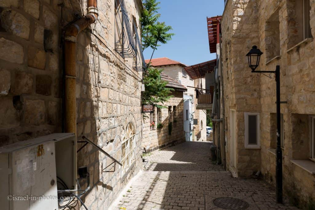 Alleys in the Old City of Safed (Tzfat)