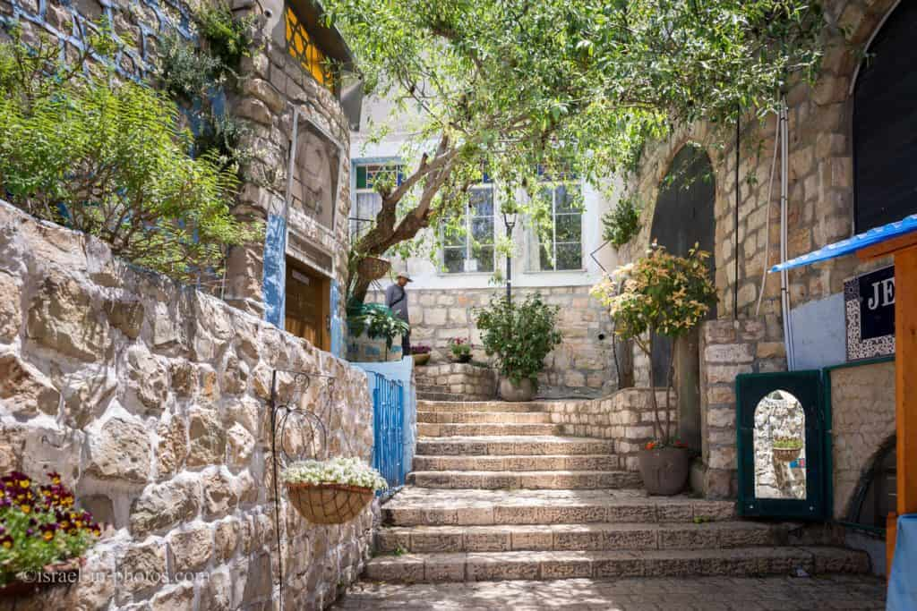 Alleys in the Old City of Safed